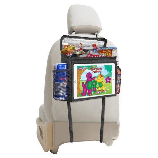 Wholesale Multi-Pocket Travel Storage Beverages Bag Car Back Seat Organizer with Cooler