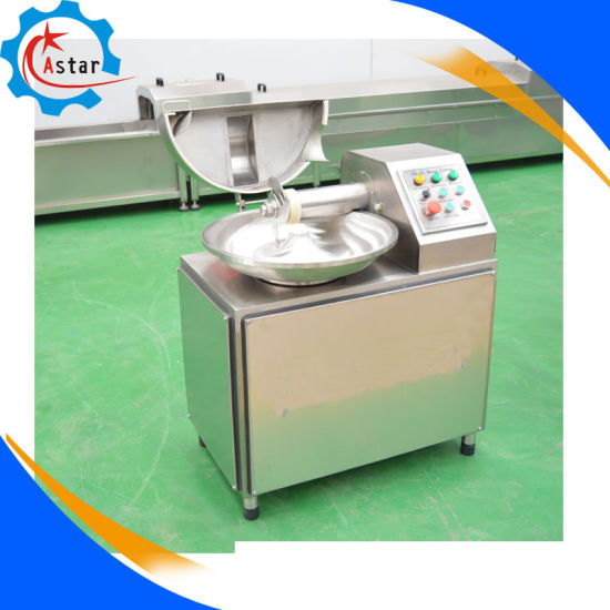 Small Kitchen Use Automatic Meat Cutter Bowl Cutting Machine pictures & photos