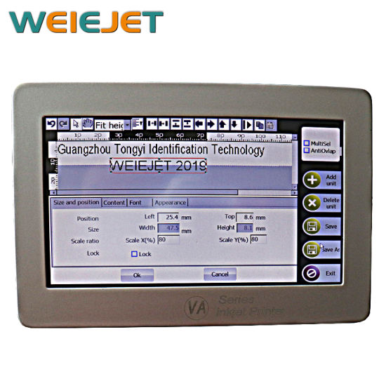 High Speed Online KN95 Mask Inkjet Printing Printer/Variable Code/Food/Beverage