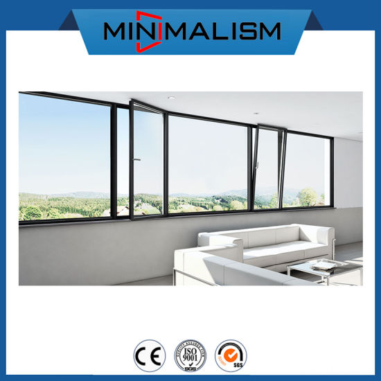 Tilt and Turn Aluminum Awning Window with Top-Grade Thermal Break