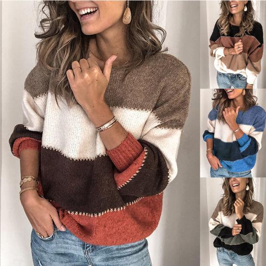 Wholesale Fashion Women Pullover Sweaters Buttoned Wrap Long Sleeves Turtleneck Women Sweater