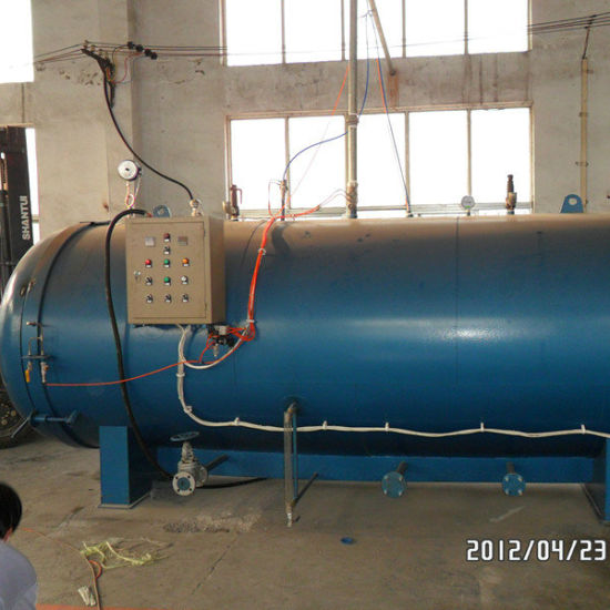 China Electric Water Steam Heating Vulcanizing Curing Chamber ...