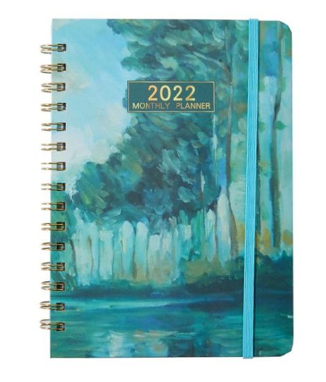 2022 Hot Sale Spiral Notebook Customized Diary 365 Journal Daily Planner