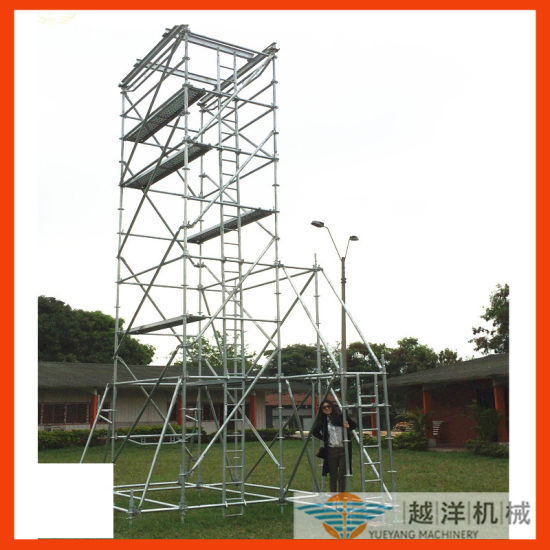 as/Nz Approved Aluminium Ringlock Scaffold Tower with Top Quality