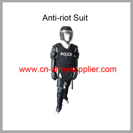 Wholesale Cheap China Police Anti Riot Suits with Riot Helmet