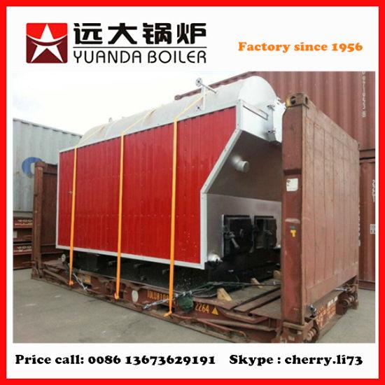 China 6t/H Szl/Dzh6-1.25-M Series Biomass-Fuel Steam/Hot-Water ...