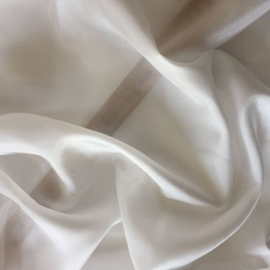 100 Pure Silk Fabric Habutai Habotai Textiles 8m/M White