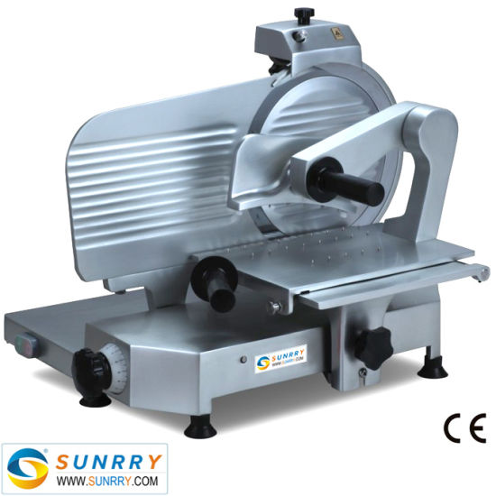Commercial Cutter Stainlessl Meat Slicer Machine with Underside Motor Protection