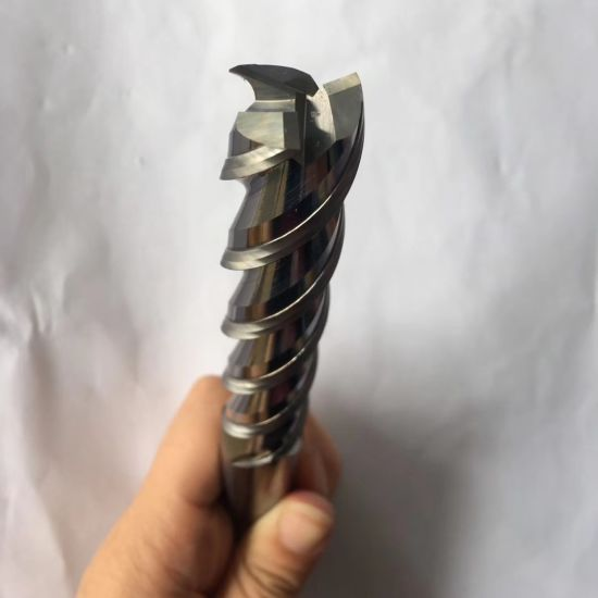 Ø 15mm HSS 4-cut end mill DIN844