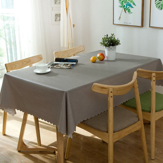 100% Polyester Cotton Airline Disposable Table Cloth