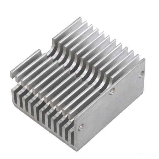 Heatsink Aluminum Extruded Power Amplifier Heat Sink LED