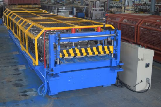 YX30-200-1000 Roof Profile Sheet Making Machine-Roll Forming Machine with Ce/ISO9001