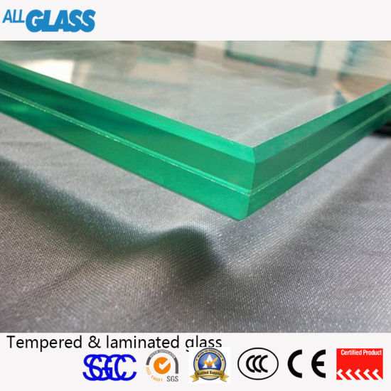 All Colours PVB Tempered Laminated Glass for Building Materials