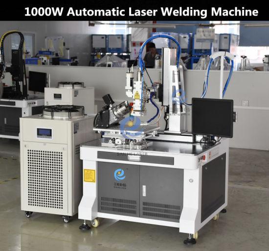 Sanhe Contimuous Fiber Laser Welding Machine Non-Polish Processing