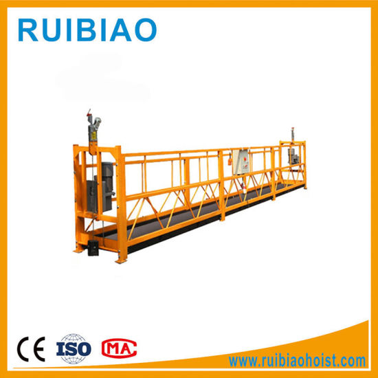 Construction Building Cradle Gondola/ Used Swing Stage Scaffolding for Sale