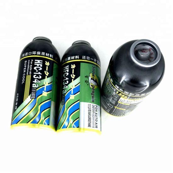 High Purity Auto Air-Conditioner Freezer Automobile Cool Gas R134A Refrigerant 250g
