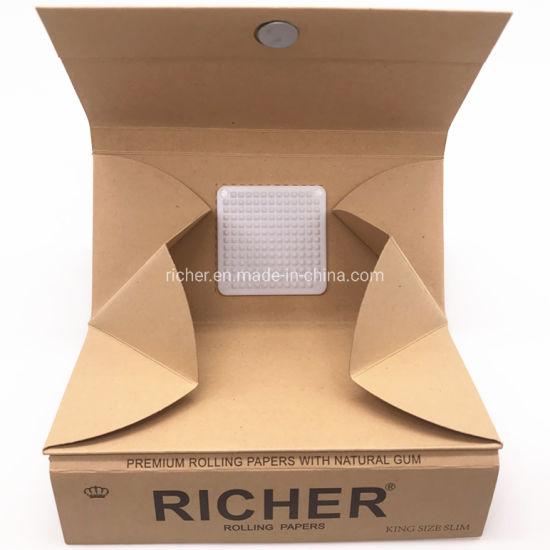 Hot Sale Richer Custom 3 in 1 Grinder+Filter+Paper Hemp Smoking Rolling Papers