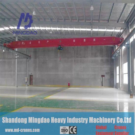 Heavy Duty 5t Single Beam Overhead Crane for Paper Mills