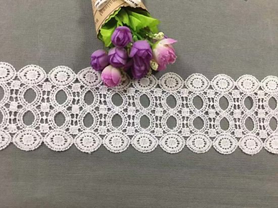 Elegant Cotton Lace Trimming for Clothing D