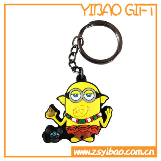 3D Figure Rubber Key Chain, PVC Keyring, Key Holder (YB-PK-50) pictures & photos