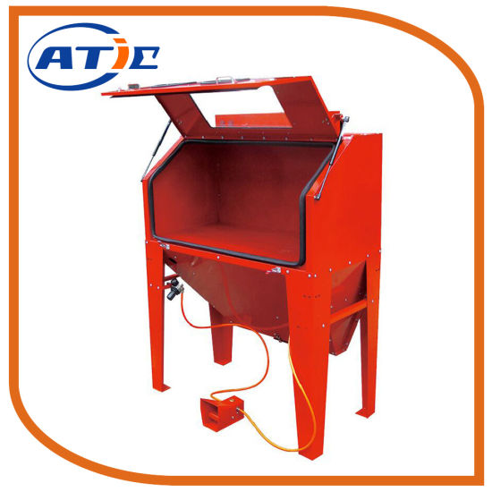 420L Capacity Industrial Cabinet Sandblasting Machine pictures & photos