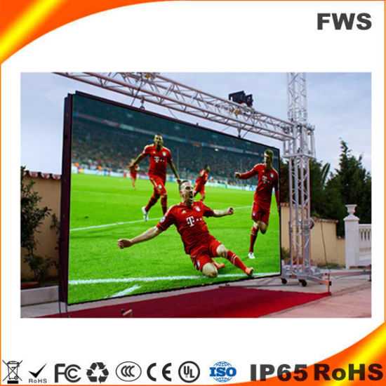 High Brightness P10 (P6 P8mm) Outdoor Fixed LED Video Wall