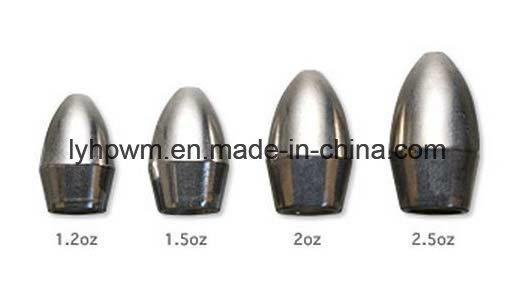 China Hot Sale Tungsten 97% Tungsten Bullet Weight Fishing