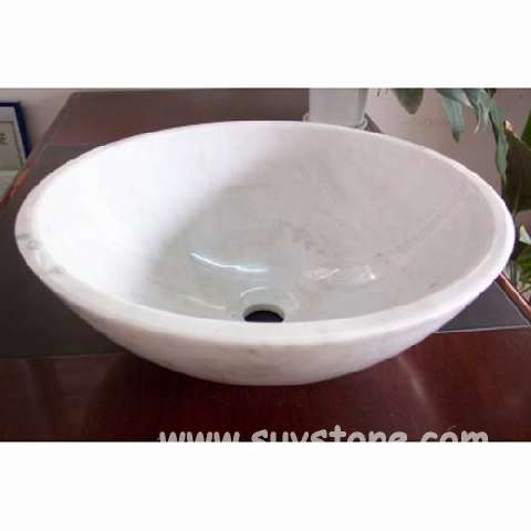 Hot Sell Natural Stone Round Sink with High Quality pictures & photos