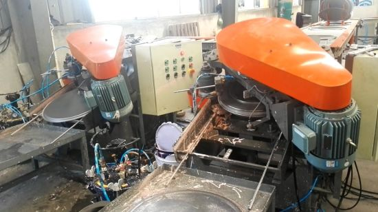 Steel Bitumen Drum Cap Hole Punching and Locking Machine