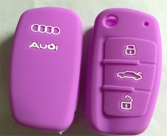 Sy06-01-001 Wholesale Soft Colorful Silicone Car Key Cover