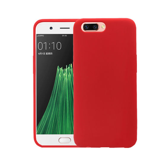 Silicone Microfiber Cases Cover for Oppo R11