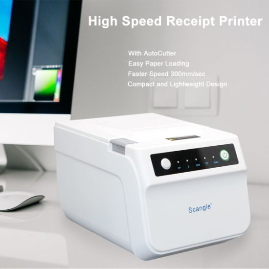 80mm POS Receipt Printer/Thermal Receipt Printer with Auto Cutter pictures & photos