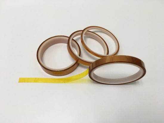 Amber Low Static Polymide Tape Withstand Temperatures pictures & photos