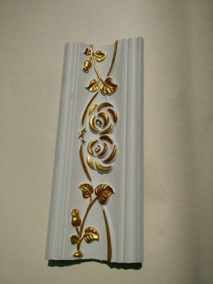 Polyurethane Foam Crown Moulding Cornice for Interior Decoration