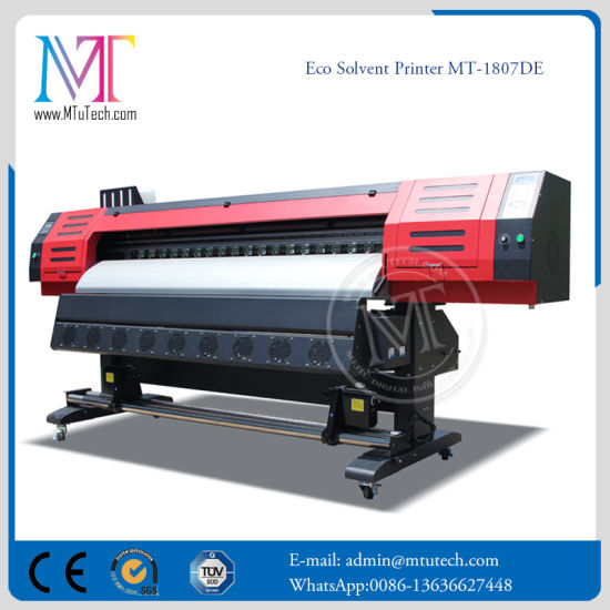Photo Printing Rip Inkjet Printer Eco Solvent Printer Digital Flex Printing Machine with Dx5 Printhead