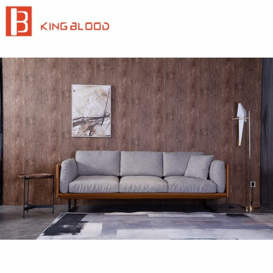 Made In Italy Leather Luxury Contemporary Furniture Set: China Luxury Modern Hotel Lobby Italy Nappa Leather Sofa