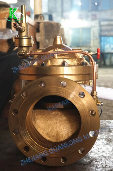Brass Copper Differential Pressure Sustaining Control Valve (GL800X) pictures & photos