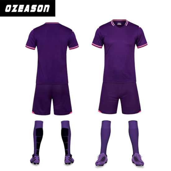 Wholesale Men's High Quality Soccer Uniform Football Shirt