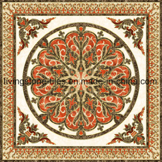 China Muslim Style Carpet Puzzle Floor Tiles For Bedroom China
