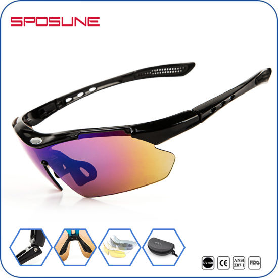60e20978408d ... Outdoor Sports Sun Glasses. Unisex Age and PC Frame Material Baseball Sunglasses  Polarized New UV400 Bicycle Driving Goggles Style 2016