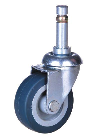 Hot Sale 3 Inch Shaft Swivel Caster TPE Wheel Caster