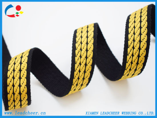 High Quality Durable and Eco-Friendly Jacquard Nylon Strap for Shoes Decoration pictures & photos