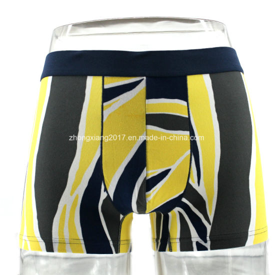 Men's Underwear Man Underpants Customize Fashion Sexy Men Seamless Boxers