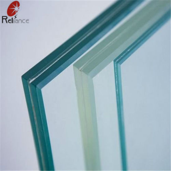 6.38mm-12.38mm Clear Laminated Glass / PVB Glass /Layered Glass /Double Glass /Windown Glass /Car Glass pictures & photos
