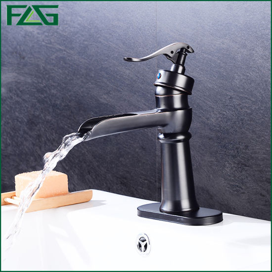 Flg Orb Bathroom/Sanitary Ware/Kitchen Waterfall Mixer/Tap/Faucet
