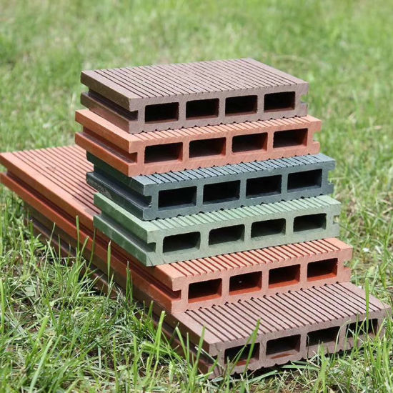 Durable Quality WPC Decking Composite Flooring for Garden and Pillars