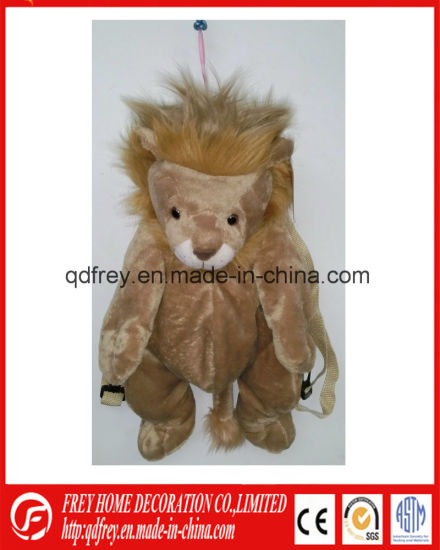 Promotional Gift Toy of Plush Soft Lion Toy Bag pictures & photos