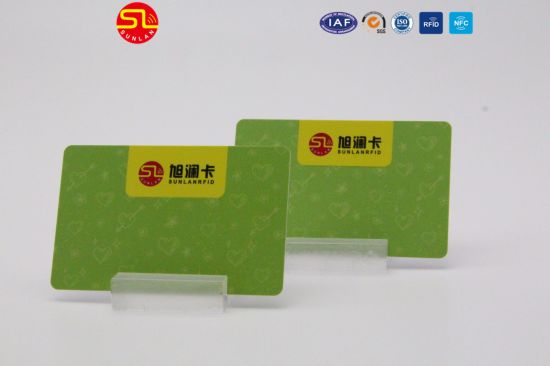 Hot Sales 13.56MHz RFID Card/Smart Contactless Card for Metro/Subway Ticketing/Access Control pictures & photos