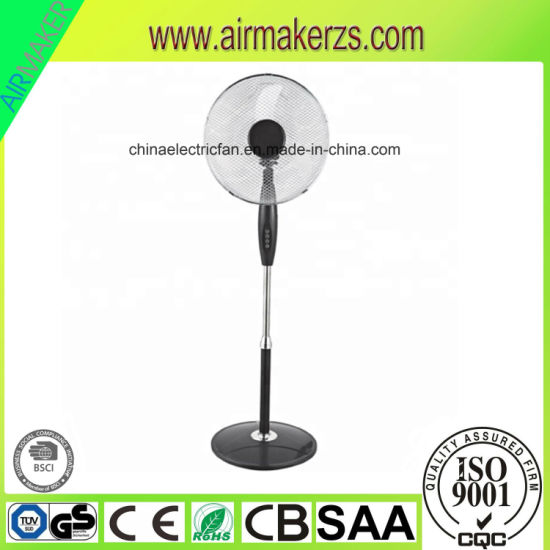16 Inch 220V Stand Fan with 3as Blades Good Price