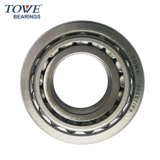 High Precision Tapered Roller Bearing 30207
